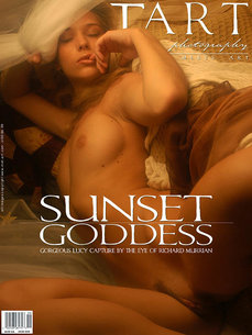 692 MetArt members tagged Lucy S and naked pictures gallery Sunset Goddess 'goddess'