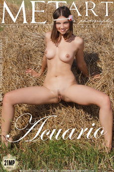 12 MetArt members tagged Anita E and naked pictures gallery Acuario 'sexy eyes'
