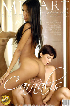 17 MetArt members tagged Irina E & Lissa A and erotic photos gallery Carnalis 'brown skin'