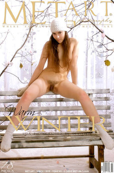 MetArt Lida A Photo Gallery Warm Winter Deviatkin