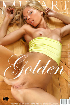 MetArt Gallery Golden with MetArt Model Sarah C