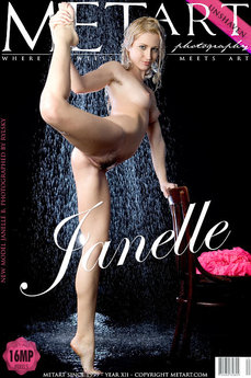 MetArt Janelle B Photo Gallery Presenting Janelle by Rylsky