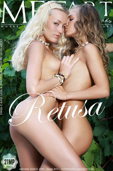 6 MetArt members tagged Inga C & Liza B and erotic images gallery Retusa 'firm breasts'