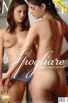 37 MetArt members tagged Eufrat A & Zuzana A and erotic images gallery Spogliare 'girl on girl'