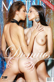 33 MetArt members tagged Alena I & Anna AJ and nude pictures gallery Domius 'long legs'