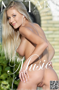 MetArt Gallery Music with MetArt Model Candice B