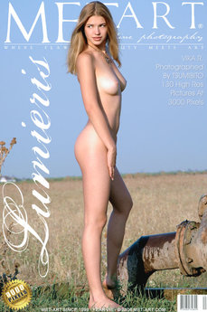 49 MetArt members tagged Vika R and erotic images gallery Lumieris 'great body'