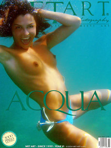4 MetArt members tagged Sharon E and nude photos gallery Acqua 'underwater'
