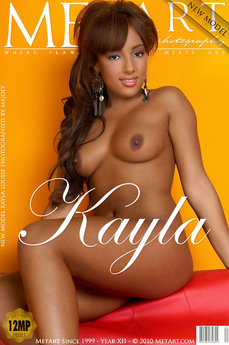 MetArt Kayla Louise Photo Gallery Presenting Kayla Louise Majoly