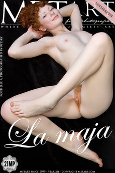 27 MetArt members tagged Rochelle A and naked pictures gallery La Maja 'red bush'