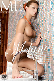 6 MetArt members tagged Gisele A and nude pictures gallery Melano 'bathtub'