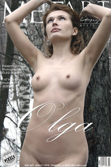 13 MetArt members tagged Olga E and erotic images gallery Olga 'snow'