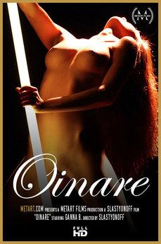 Met Art Oinare erotic images gallery met MetArt model Ganna B