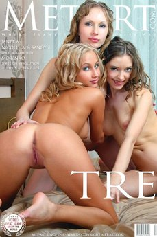 MetArt Gallery Tre with MetArt Models Janet A & Nicolle A & Sandy A