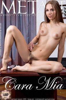 313 MetArt members tagged Gemma A and nude photos gallery Cara Mia 'hairy pussy'