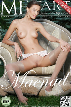 38 MetArt members tagged Anna AJ and erotic images gallery Maenad 'garter belt'