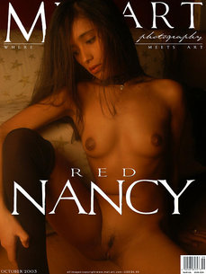 erotic photography gallery Red Nancy with Nancy M