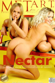 MetArt Gallery Nectar with MetArt Models Serena A & Valentina A