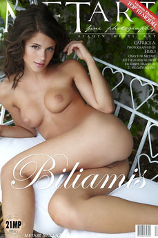 160 MetArt members tagged Caprice A and erotic images gallery Biliamis 'girl next door'
