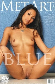 erotic photography gallery Blue with Maly A
