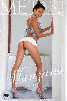 5 MetArt members tagged Divina A and erotic images gallery Manzana 'cute face'