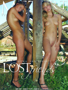 erotic photography gallery Lost Friends with Ashanti A & Koika