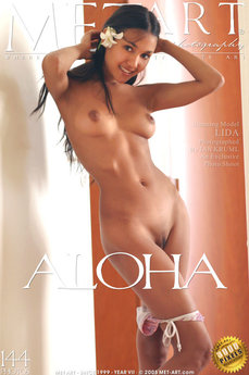 10 MetArt members tagged Lissa A and erotic photos gallery Aloha 'brown skin'