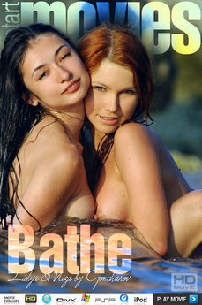 MetArt Gallery Bathe with MetArt Models Lidiya A & Niza A