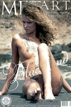 19 MetArt members tagged Betty A and naked pictures gallery Blacksand 'beach'