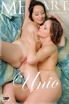 139 MetArt members tagged Janet A & Vika G and nude photos gallery Unio 'more please'