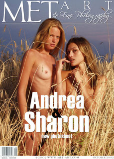 4 MetArt members tagged Andrea C & Sharon E and erotic photos gallery Andrea & Sharon 'underwater'