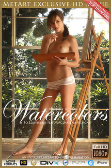 MetArt Gallery Watercolors with MetArt Model Malena Morgan