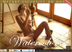 MetArt Watercolors Malena Morgan