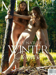 34 MetArt members tagged Girls Of Holy Nature and erotic photos gallery Winter Games 'nature'