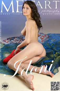 9 MetArt members tagged Ganna A and erotic images gallery Idoni 'lovely breasts'