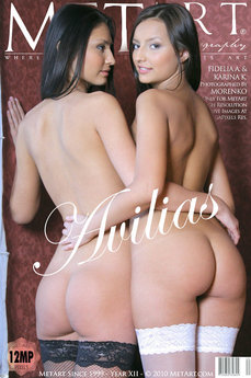 104 MetArt members tagged Fidelia A & Karina K and nude photos gallery Avilias 'more please'