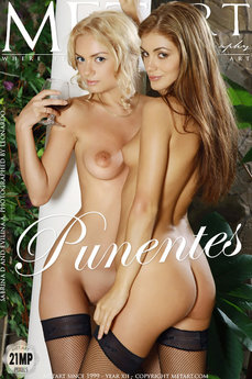 MetArt Gallery Punentes with MetArt Models Evilina A & Sabrina D