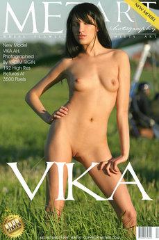 MetArt Vika AH in Presenting Vika
