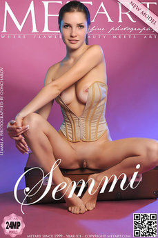 1543 MetArt members tagged Semmi A and erotic images gallery Presenting Semmi 'huge labia'