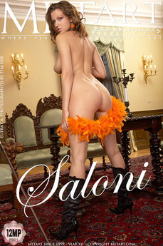 erotic photography gallery Saloni with Eufrat A