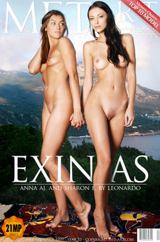 MetArt Gallery Exinias with MetArt Models Anna AJ & Sharon E