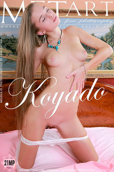 erotic photography gallery Koyado with Milena D