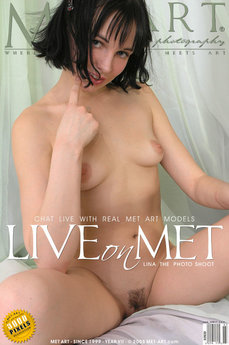 erotic photography gallery Lina Live On Met Art with Lina A