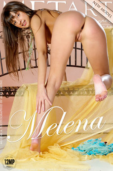 100 MetArt members tagged Melena A and erotic images gallery Presenting Melena 'spread legs'