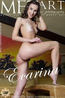 8 MetArt members tagged Patsy A and erotic images gallery Ecarina 'tan lines'