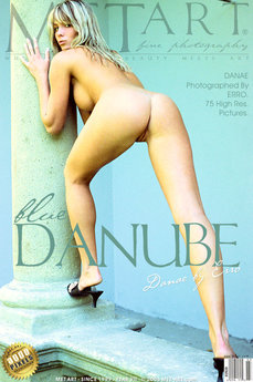 erotic photography gallery Blue Danube with Danae A
