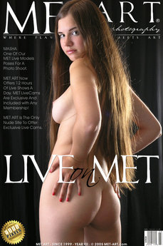 MetArt Masha G Photo Gallery Live On Met: Masha by Met Cam Models