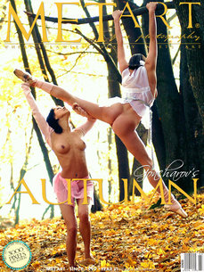 18 MetArt members tagged Jd & Liliya A and naked pictures gallery Autumn Dance 'talented'