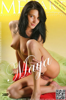 MetArt Maya D Photo Gallery Presenting Maya Antonio Clemens