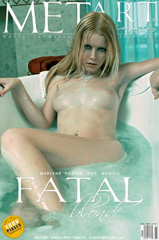 erotic photography gallery Fatal Blonde with Marlene A